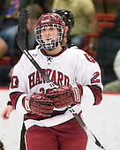 Kate Buesser (Harvard - 20) - The Harvard University Crimson defeated the Northeastern University Huskies 1-0 to win the 2010 Beanpot on Tuesday, February 9, 2010, at the Bright Hockey Center in Cambridge, Massachusetts.