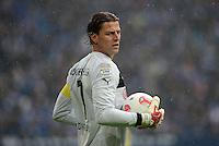 FUSSBALL   1. BUNDESLIGA   SAISON 2012/2013    25. SPIELTAG FC Schalke 04 - Borussia Dortmund                         09.03.2013 Torwart Roman Weidenfeller (Borussia Dortmund) ist enttaeuscht