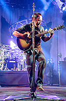 Dave Matthews of Dave Matthews Band performs and dances during Summer 2013 at Cruzan Amphitheatre, West Palm Beach, FL, July 19, 2013