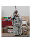 woman in tunisia on the market