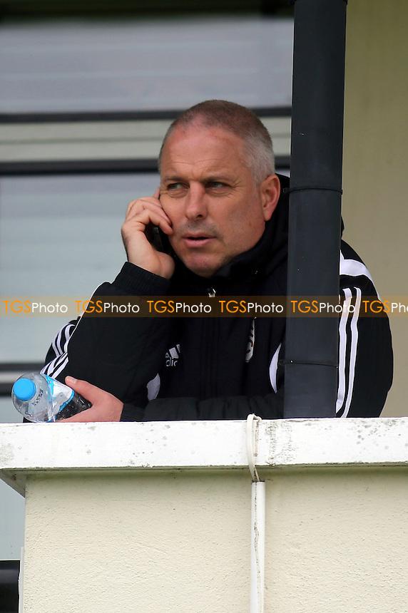 Fulham caretaker manager, Kit Symons - Fulham Under-21 vs Liverpool Under-21 - Barclays Under-21 Premier League Football at Motspur Park Training Ground, Surrey - 26/10/14 - MANDATORY CREDIT: Paul Dennis/TGSPHOTO - Self billing applies where appropriate - contact@tgsphoto.co.uk - NO UNPAID USE
