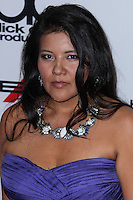 BEVERLY HILLS, CA - OCTOBER 21: Misty Upham at 17th Annual Hollywood Film Awards held at The Beverly Hilton Hotel on October 21, 2013 in Beverly Hills, California. (Photo by Xavier Collin/Celebrity Monitor)