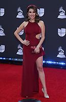 14 November 2019 - Las Vegas, NV - Maity Interiano. 2019 Latin Grammy Awards Red Carpet Arrivals at MGM Grand Garden Arena. Photo Credit: MJT/AdMedia
