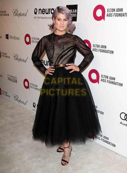 WEST HOLLYWOOD, CA - March 02: Kelly Osbourne at the 22nd Annual Elton John AIDS Foundation Oscar Viewing Party, Private Location, West Hollywood,  March 02, 2014. <br /> CAP/MPI/JO<br /> &copy;JO/MPI/Capital Pictures
