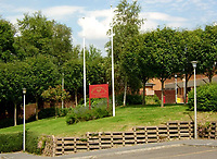 "Pictured: Birchgrove School near Swansea, south Wales, UK.<br /> Re: Teachers were abused and threatened online by supporters of Tommy Robinson after his criticism of a school on Facebook.<br /> The former leader for the EDL (English Defence League) said about the head teacher of Birchgrove Comprehensive School near Swansea that he was ""displaying fascist bullying"".<br /> He claimed a pupil was criticised for including him as a person he admired in a project about anti-bullying.<br /> Swansea Council leader Rob Stewart said events had been deliberately distorted.<br /> A ceremony due to be held at the school on Thursday was cancelled and the school's social media accounts suspended.<br /> Tommy Robinson (real name is Stephen Yaxley-Lennon) wrote on Facebook that a pupil at the school had written on a board that they respected him ""because he stands up for the British public"".<br /> He claimed the school took action to try to identify the pupil who wrote the praise.<br /> Mr Robinson added: ""This just underlines how our education system has been infiltrated by far-left fascists. Surely pupils are allowed to have free thought and opinion?"""