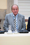 King Juan Carlos during the COTEC Board meeting at El Pardo Palace in Madrid. June 08. 2016. (ALTERPHOTOS/Borja B.Hojas)