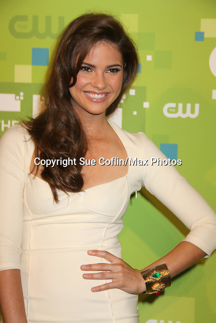Shelley Hennig - The Secret Circle at the CW Upfront 2011 green carpet arrivals at Jazz at Lincoln Center, New York City, New York on May 18, 2011. (Photo by Sue Coflin/Max Photos)