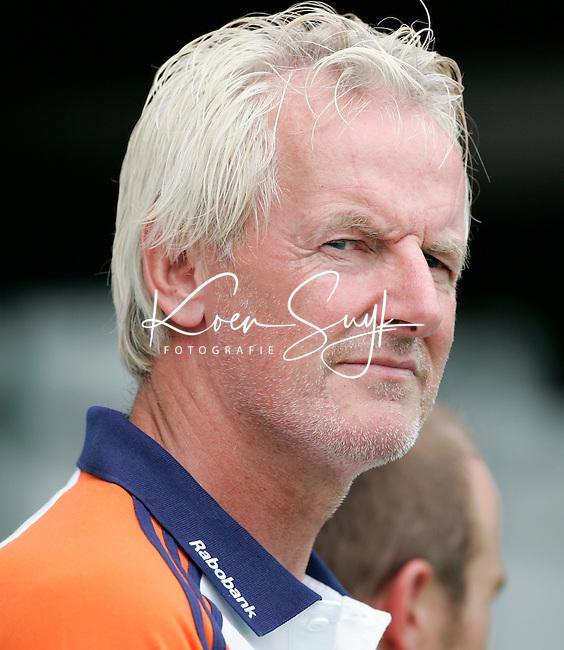 TERRASSA - Mental coach Bouke de Boer donderdag tijdens de Champions Trophy wedstrijd Nederland-Duitsland in Terrassa, Spanje. ANP PHOTO KOEN SUYK