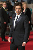London, UK. 14 February 2016. Actor Benicio del Toro. Red carpet arrivals for the 69th EE British Academy Film Awards, BAFTAs, at the Royal Opera House. © Vibrant Pictures/Alamy Live News