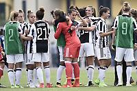 Mozzanica (Bg) 30/09/2017 - campionato di calcio serie A femminile / Mozzanica - Juventus / foto Daniele Buffa/Image Sport/Insidefoto<br /> nella foto: esultanza Juventus fine gara