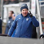 Ally McCoist having some banter with the away fans