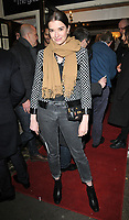 Margaret Clunie at the &quot;Betrayal&quot; play press night, The Harold Pinter Theatre, Panton Street, London, England, UK, on Wednesday 13th March 2019.<br /> CAP/CAN<br /> &copy;CAN/Capital Pictures