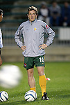27 March 2004: Andreas Herzog before the game. Los Angeles Galaxy defeated the Kansas City Wizards 1-0 at SAS Stadium in Cary, NC in the final preseason game for both Major League Soccer teams as part of the Cary Pro Kickoff Invitational tournament..
