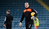 Blackpool's goalkeeping coach Dave Timmins during the pre-match warm-up<br /> <br /> Photographer Chris Vaughan/CameraSport<br /> <br /> The EFL Sky Bet League One - Rochdale v Blackpool - Wednesday 26th December 2018 - Spotland Stadium - Rochdale<br /> <br /> World Copyright &copy; 2018 CameraSport. All rights reserved. 43 Linden Ave. Countesthorpe. Leicester. England. LE8 5PG - Tel: +44 (0) 116 277 4147 - admin@camerasport.com - www.camerasport.com