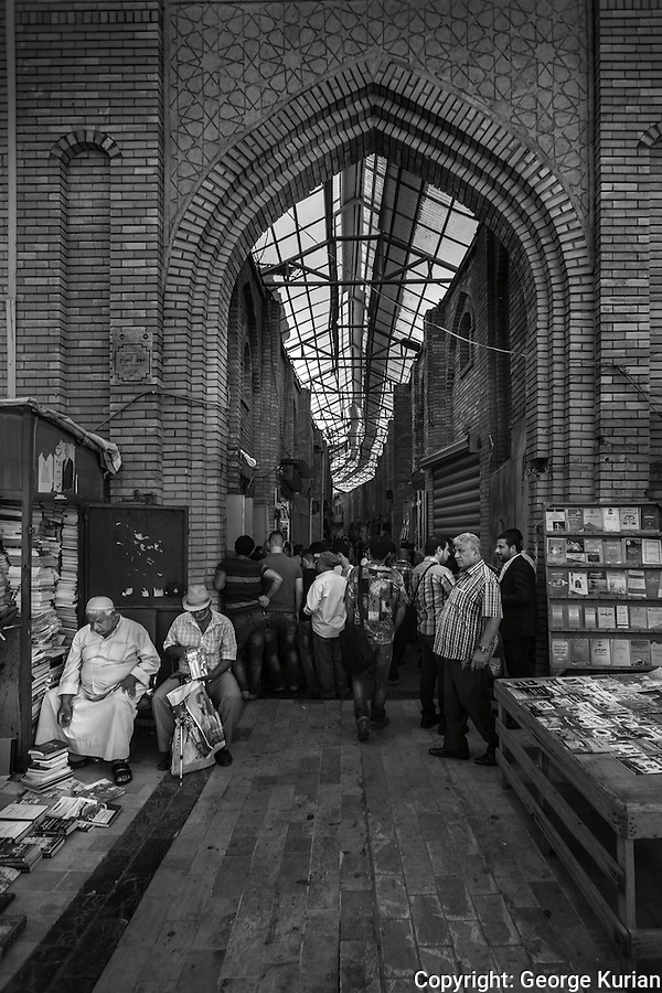 The souk in old Baghdad