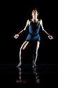 "London, UK. 28/10/2011. Clod Ensemble present ""An Anatomie in Four Quarters"" at Sadler's Wells. Dancers: Zoe Bywater, Mariana Camiloti, Valentina Golfieri, Laura de Vos, Silvia Mercuuriali, Matthew Morris, Pari Naderi, Ramona Nagabczynska, Yuyu Rau, Ino Riga, Owen Ridley-DeMonick, Alessandra Ruggeri.Pictured: Ino Riga. Photo: Jane Hobson"