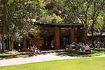 Zion National Park Lodge, lawn and picnic area, Zion National Park, Utah, UT,  Southwest America, American Southwest, US, United States, Image ut379-17657, Photo copyright: Lee Foster, www.fostertravel.com, lee@fostertravel.com, 510-549-2202