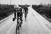 Laurens ten Dam (NED/Sunweb) trying to catch up with a little group ahead<br /> <br />  12th Strade Bianche 2018<br /> Siena &gt; Siena: 184km (ITALY)