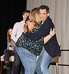 The Young and The Restless actors Jason Thompson, Daniel Goddard with fan Samantha on February 16, 2019 for a fan q & a, meet and great with autographs and photo taking hosted by Soap Opera Festival's Joyce Becker at the Hollywood Casino in Columbus, Ohio. (Photos by Sue Coflin/Max Photos)