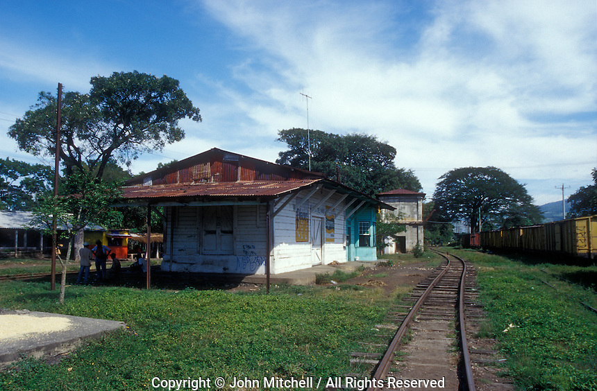 The Sitio del Nino train station in El Salvador, Central America