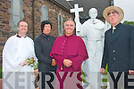 6381-6384.---------.Blessing: Hy-Breasal Theatre group gave spiritual guidance at the Cloghane-Brandon Feile Lughnasa festival parade through the village last Sunday evening, l-r: Tony Murphy, Donal Downes, Frank Houlihan and John Heveran.