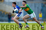Bryan Sheehan South Kerry in action against Karl Mullins Kerins O'Rahillys in the Kerry Senior Football Championship Semi Final at Fitzgerald Stadium on Saturday.