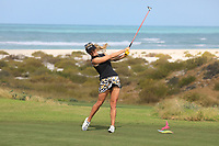 Carly Booth (SCO) during the second round of the Fatima Bint Mubarak Ladies Open played at Saadiyat Beach Golf Club, Abu Dhabi, UAE. 11/01/2019<br /> Picture: Golffile | Phil Inglis<br /> <br /> All photo usage must carry mandatory copyright credit (© Golffile | Phil Inglis)