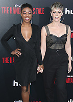 """HOLLYWOOD, CA - APRIL 19:  Samira Wiley and Lauren Morelli at the premiere Of Hulu's """"The Handmaid's Tale"""" Season 2 at TCL Chinese Theatre on April 19, 2018 in Hollywood, California. (Photo by Scott KirklandPictureGroup)"""