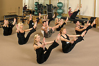 Pilates group class