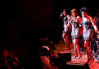 The Pointer Sisters perform with the Dallas Symphony Orchestra at the Meyerson Symphony Center at 8:56PM in Dallas, Texas, Friday, April 18, 2008. The Pointer Sisters, originally from oakland, California,  are a Grammy Award winning R&B group.  ..MATT NAGER/SPECIAL CONTRIBUTER