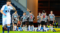 Newcastle United players celebrate going 2-0 up<br /> <br /> Photographer Alex Dodd/CameraSport<br /> <br /> Emirates FA Cup Third Round Replay - Blackburn Rovers v Newcastle United - Tuesday 15th January 2019 - Ewood Park - Blackburn<br />  <br /> World Copyright &copy; 2019 CameraSport. All rights reserved. 43 Linden Ave. Countesthorpe. Leicester. England. LE8 5PG - Tel: +44 (0) 116 277 4147 - admin@camerasport.com - www.camerasport.com