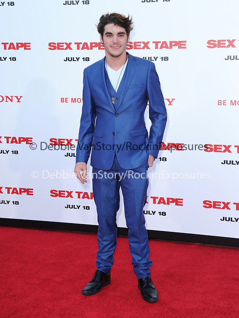 RJ Mitte attends The L.A. Premiere of Sex Tape held at The Regency Village Theatre  in Westwood, California on July 10,2014                                                                               © 2014 Hollywood Press Agency