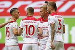 Zu früh gefreut: Erik Thommy (F95) Valon Berisha (F95), Rouwen Hennings (F95), Andre Hoffmann (F95)<br /><br /><br />20.06.2020, Fussball, 1. Bundesliga, Saison 2019 / 2020<br />33.Spieltag, Fortuna Duesseldorf : FC Augsburg<br /><br />Foto : NORBERT SCHMIDT/POOL/ via Meuter/nordphoto<br /><br />Nur für journalistische Zwecke ! Only for editorial use .