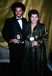 James Ingram and Phoebe Snow attending the Urban Contemporary Awards on January 21, 1983 at the Savoy in New York City.