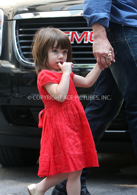 WWW.ACEPIXS.COM ** ** ** ....August 15 2008, New York City....Tom Cruise and Katie Holmes took their daughter Suri Cruise to Katie's play rehersal in Greenwich Village on August 15 2008 in New York City....Please byline: STAN ROSE -- ACEPIXS.COM.. *** ***  ..Ace Pictures, Inc:  ..tel: (646) 769 0430..e-mail: info@acepixs.com..web: http://www.acepixs.com