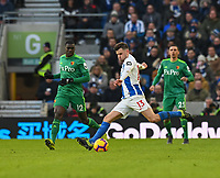 Brighton & Hove Albion's Pascal Gross <br /> <br /> Photographer David Horton/CameraSport<br /> <br /> The Premier League - Brighton and Hove Albion v Watford - Saturday 2nd February 2019 - The Amex Stadium - Brighton<br /> <br /> World Copyright © 2019 CameraSport. All rights reserved. 43 Linden Ave. Countesthorpe. Leicester. England. LE8 5PG - Tel: +44 (0) 116 277 4147 - admin@camerasport.com - www.camerasport.com