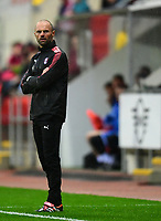 Rotherham United manager Paul Warne <br /> <br /> Photographer Chris Vaughan/CameraSport<br /> <br /> The Carabao Cup First Round - Rotherham United v Lincoln City - Tuesday 8th August 2017 - New York Stadium - Rotherham<br />  <br /> World Copyright &copy; 2017 CameraSport. All rights reserved. 43 Linden Ave. Countesthorpe. Leicester. England. LE8 5PG - Tel: +44 (0) 116 277 4147 - admin@camerasport.com - www.camerasport.com