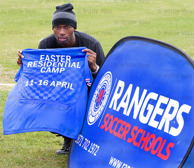 DaMarcus Beasley promoting Easter Residential Camps for kids