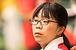 Akiko Sato (JPN),<br /> AUGUST 7, 2016 - Shooting :<br /> Women's 10m Air Pistol Qualification at Olympic Shooting Centre during the Rio 2016 Olympic Games in Rio de Janeiro, Brazil. (Photo by Enrico Calderoni/AFLO SPORT)