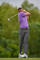 Sam Burns (USA) watches his tee shot on 4 during round 3 of the AT&T Byron Nelson, Trinity Forest Golf Club, Dallas, Texas, USA. 5/11/2019.<br /> Picture: Golffile | Ken Murray<br /> <br /> <br /> All photo usage must carry mandatory copyright credit (© Golffile | Ken Murray)