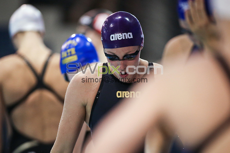 Picture by Alex Whitehead/SWpix.com - 14/04/2016 - Swimming - British Swimming Championships 2016 - Tollcross International Swimming Centre, Glasgow, Scotland - Fran Halsall prepares to compete in the Women's 50m Freestyle final.