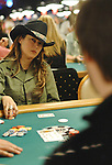 Jennifer Tilly in a hand that eliminted her with eventual winner, Dani Schreiber.