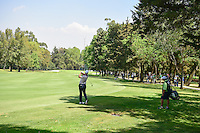 Marcus Fraser (AUS) watches his approach shot on 4 during round 2 of the World Golf Championships, Mexico, Club De Golf Chapultepec, Mexico City, Mexico. 3/3/2017.<br /> Picture: Golffile | Ken Murray<br /> <br /> <br /> All photo usage must carry mandatory copyright credit (&copy; Golffile | Ken Murray)