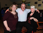 Anthony Kavanagh celebrating his 40th birthday with friends Catriona Walsh and Imelda Sherry in The Bellewstown Inn. Photo: Colin Bell/pressphotos.ie
