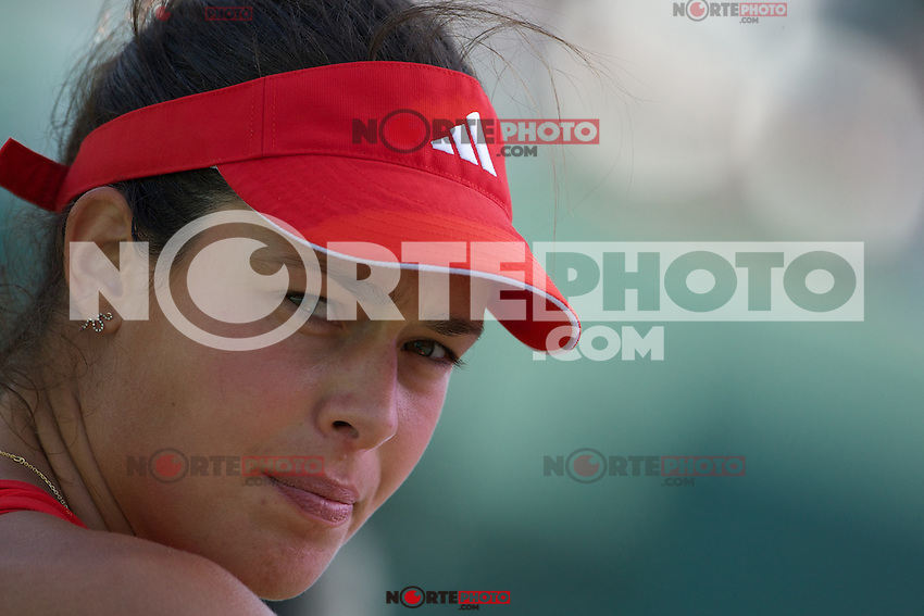 KEY BISCAYNE, FL - MARCH 25: Ana Ivanovic competes during Day 7 of the Sony Ericsson Open in Miami on March 25th, 2012 in Key Biscayne, FL. ( Photo by Chaz Niell/Media Punch Inc.)