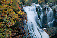 Bald River Falls<br /> Bald River Gorge Wilderness<br /> Cherokee National Forest<br /> Onicoi Mountains,  Tennessee