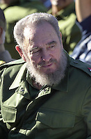 Fidel Castro pictured on June 9, 2006. Credit: Jorge Rey/MediaPunch