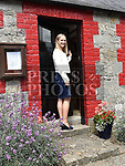 Minister Helen McEntee arrives at the Francis Ledwidge centenary commemerations at Ledwidge cottage Slane.  Photo:Colin Bell/pressphotos.ie
