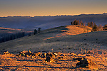 Sunrise from Mount Washburn, Tower / Roosevelt Region, Yellowstone National Park, Wyoming