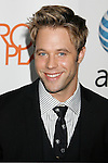 "LOS ANGELES, CA. - August 22: Shaun Sipos arrives at the ""Melrose Place"" Los Angeles Premiere Party on August 22, 2009 in Los Angeles, California."